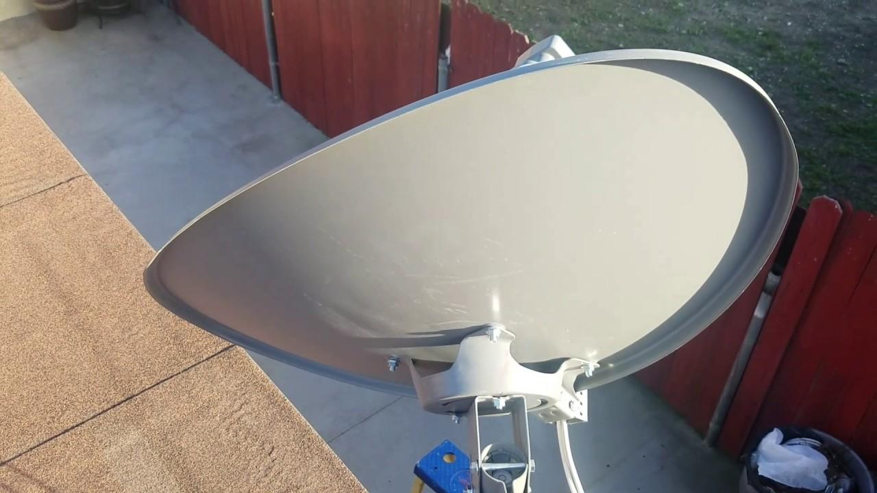 Sky Hd Mexico Antena Eliptica Orientaci 243 N En California