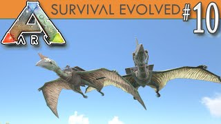 ARK: Survival Evolved - Taming TWO Quetzal! New Flying Dino Bird -  E10
