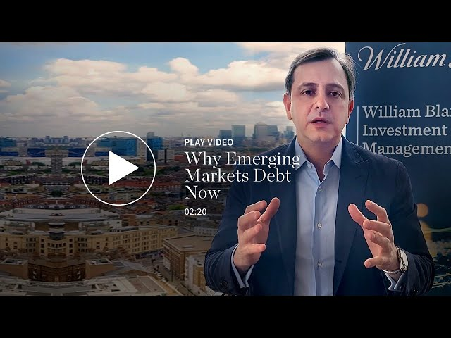 Why Emerging Markets Debt Now