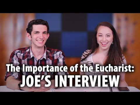 The Importance of the Eucharist to the Young Church | Interview With Joe on the Synod