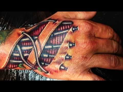 3D Hand Tattoo Designs 2018