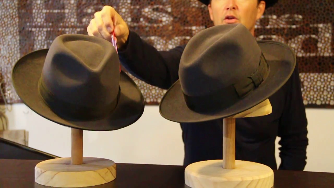 Akubra Stylemaster VS Bogart - Hats By The Hundred - YouTube 69ceb273866