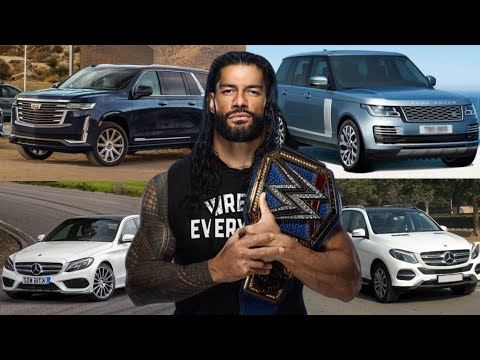 Roman Reigns Car Collection 2021