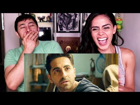 BADHAAI HO | Ayushmann Khurrana | Sanya Malhotra | Trailer Reaction!
