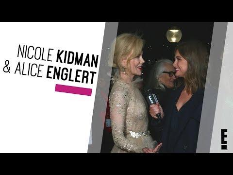 Nicole Kidman & Alice Englert   The Hype  E!