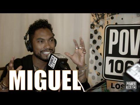 Miguel Speaks On Wild Heart Album & Tour BET AWARDS 2015