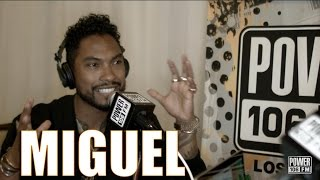 Miguel Speaks On Wild Heart Album & Tour BET AWARDS 2015