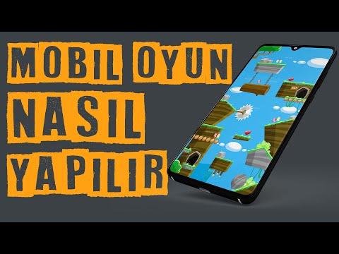 Mobil Oyun Nasıl Yapılır   Mobil Oyun Yapma Ios Ve Android