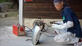 DIY家庭用溶接機できれいなビードが出せるか?やってみた①