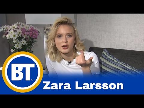 Catching up with Swedish pop sensation Zara Larsson