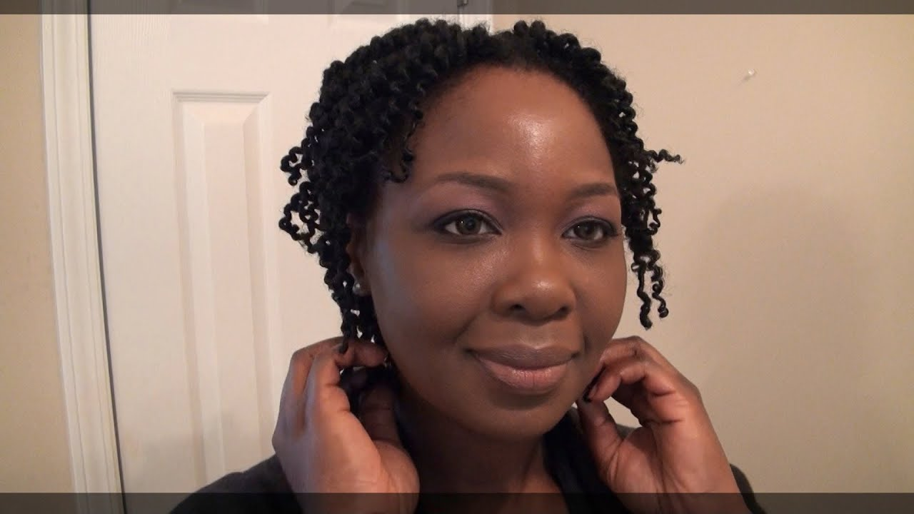 My Super Defined Twistout On My Thin 4c Hair Youtube