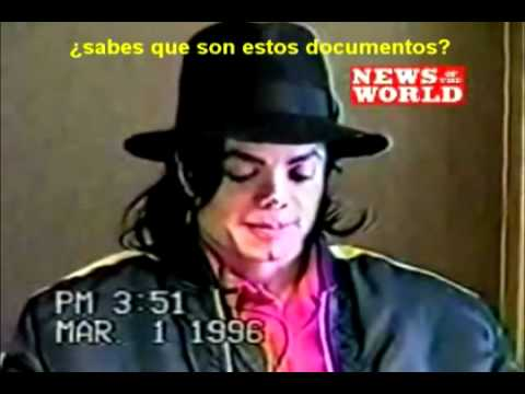 La Gitana - Se cuela video de interrogatorio de abuso de menores de Michael Jackson