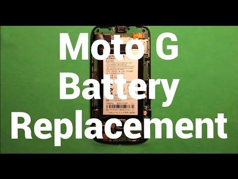Motorola Moto G Battery Replacement