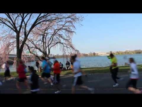 Cherry Blossom ten-mile run today. 2013