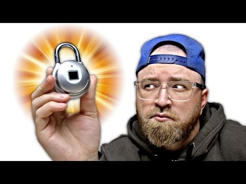 Thumbnail: The Coolest Padlock In The World!