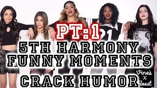 5th Harmony Funny Moments Crack Humor Pt:1