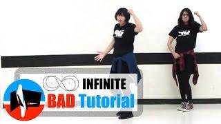 [Underground Pulse] INFINITE(인피니트) - Bad MIRRORED Dance Tutorial