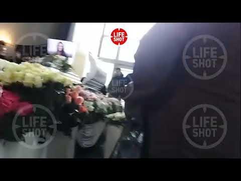 Видео из похорон Началовой  (LIFESHOT)