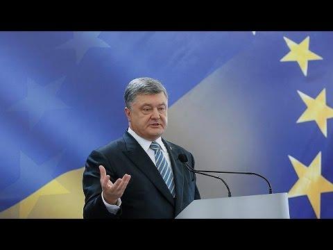 Ukraine and EU sign long-awaited visa waiver deal