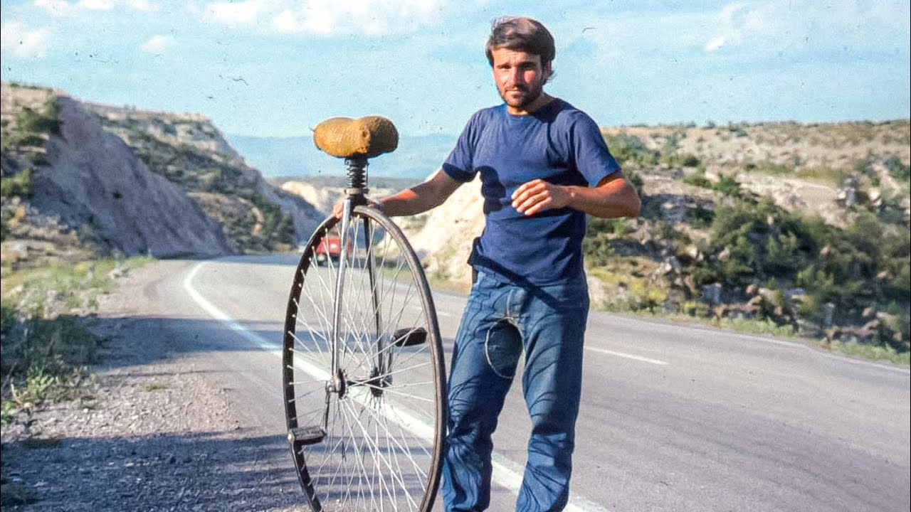 He Built a Unicycle THEN Rode it Around The World in the 1970s! [Wobbling Wally Watts]