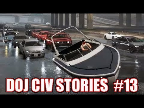 GTA5 RP | DOJ Civ Stories #13 - George goes sailing
