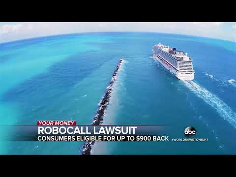 Class Action LAWSUIT Cruise Line ROBOCALL