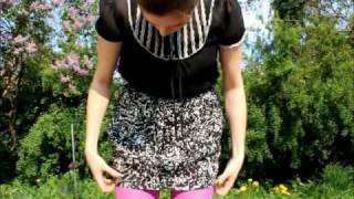 Erstes Video - OOTD mit bunter Strumpfhose