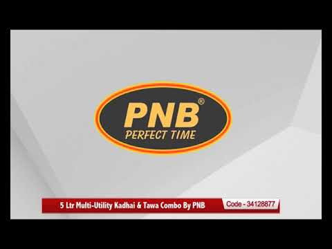 Buy 5 in 1 Multi Utility Kadhai & Get 1 Tawa free by PNB