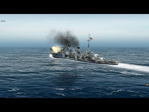 Let's play: Atlantic Fleet Campaign. Part 1.