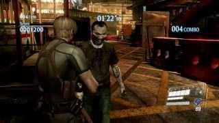 Resident Evil 6 mod test - RE4 Leon! [HD]