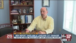 Lakeland city manager knew about chief's questionable hiring practices