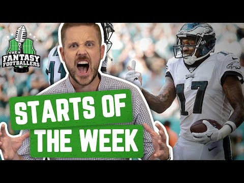 Fantasy Football 2019 - Starts Of The Week + Week 14 Breakdown, It's Playoff Time! - Ep. #833