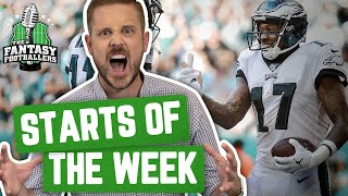 Fantasy Football 2019 - Starts of the Week + Week 14 Breakdown, It's Playoff Time! - Ep. #831
