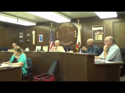 Part 1 Lassen County Board of Supervisors Meeting, August 18, 2015