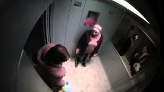 Приколы над людьми Розыгрыш в лифте Ржач Развод Прикол