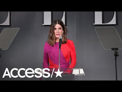 Sandra Bullock Reveals She's Had A 'Crappy Few Weeks' Following The Death Of Her Dad & Dogs  Access