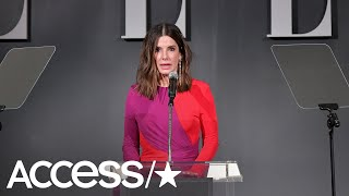 Sandra Bullock Reveals She's Had A 'Crappy Few Weeks' Following The Death Of Her Dad & Dogs | Access