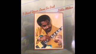 LITTLE MILTON   You Ought To Be Here With Me   GOLDEN EAR RECORDS   1980