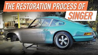 homepage tile video photo for The Incredible Detail Behind The Singer Restoration Process
