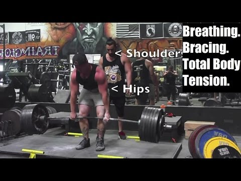 The Right Way to Breathe For More Powerful Weightlifting