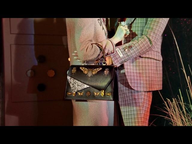 Gucci Fall Winter 2017: Ottilia Top Handle Bag