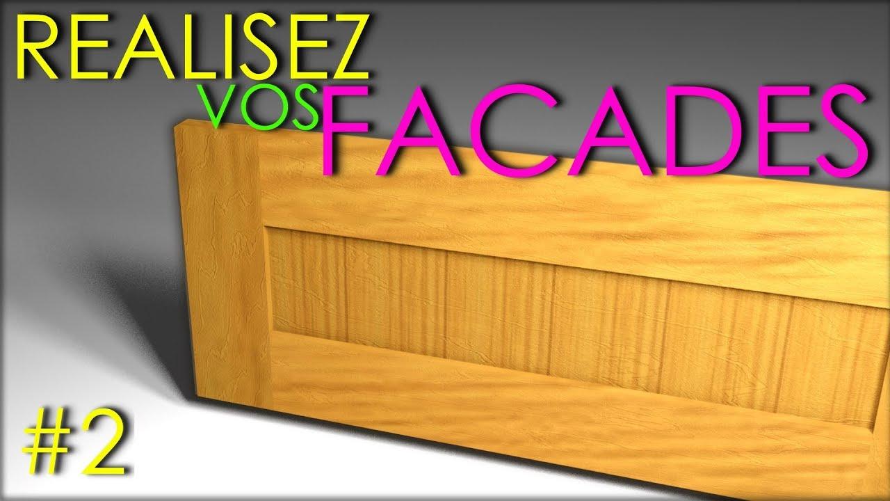 Facade De Cuisine En Chene Massif solid wood kitchen cabinet door - chestnut