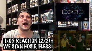 Baixar LEGACIES - 1x03 'WE'RE BEING PUNKED, PEDRO' REACTION (2/2)