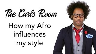 Afro + classic suits + Vespa = Awesome | The Curls room