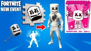 Fortnite In-Game Marshmello Concert Event Leaked + Everything We Know! (Fortnite New Event)