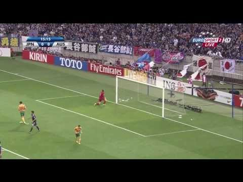 Japan vs Australia - 2014 FIFA World Cup qualification - AFC 4th Round
