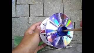 KINCIR AIR DARI CD BEKAS