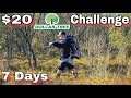 7 Day $20 Dollar Store Survival Challenge - Day 1 - Into the Wild