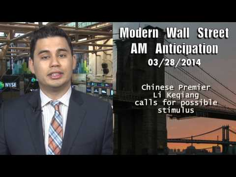 AM Anticipation: Stocks rise on China stimulus hopes