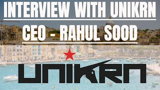 Interview with Unikrn CEO Rahul Sood | Unikoin Gold